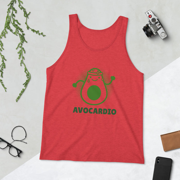 AvoCardio Tank Top | Red Triblend / 2XL |  | JacksonsRunaway