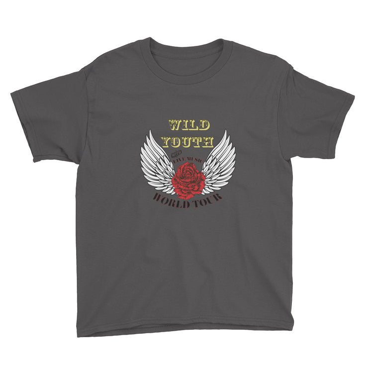Wild Youth Short Sleeve Children's  T-Shirt | Charcoal / XS | T-shirt | JacksonsRunaway