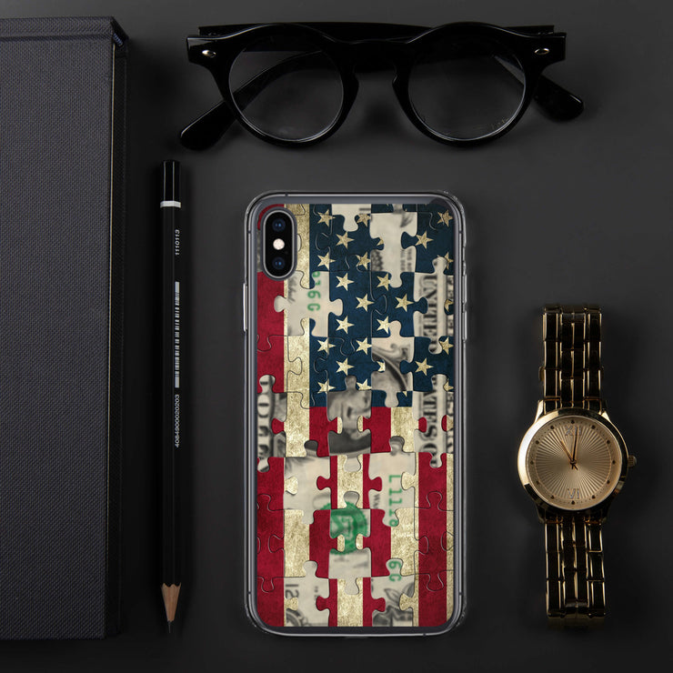 American Greed iPhone Case | iPhone XS Max | Mobile Phone Cases | JacksonsRunaway