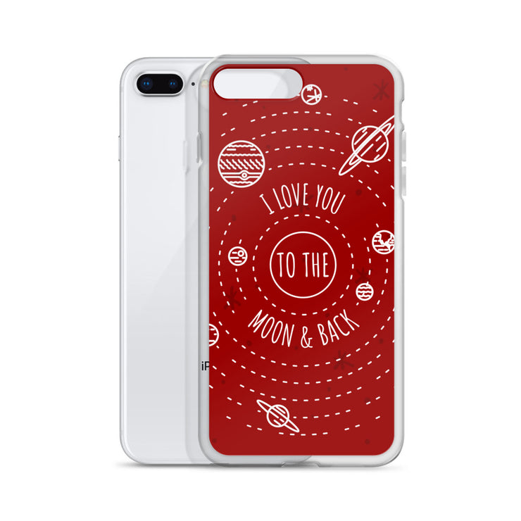 Moon & Back iPhone Case |  | Cellphone Accessories | JacksonsRunaway