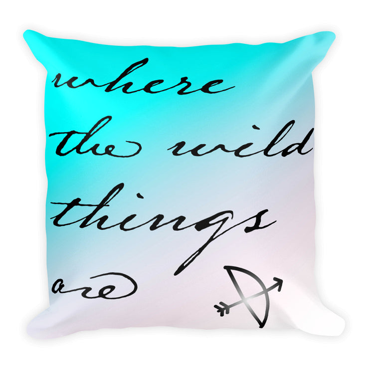 Where the Wild Things Are Square Pillow   jacksons runaway.myshopify.com