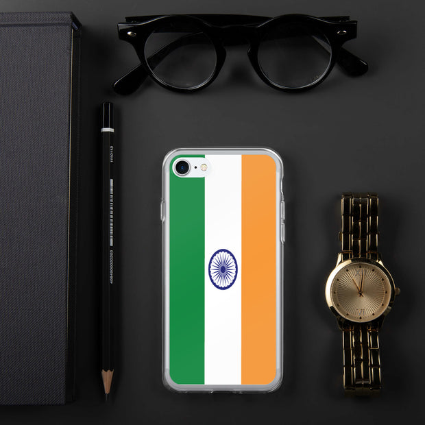 Flag of India iPhone Case | iPhone 7/8 | Mobile Phone Cases | JacksonsRunaway