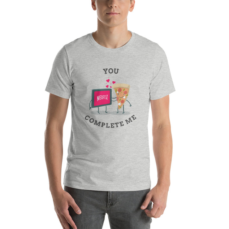 You Complete Me T-Shirt | Athletic Heather / 4XL | T-shirt | JacksonsRunaway