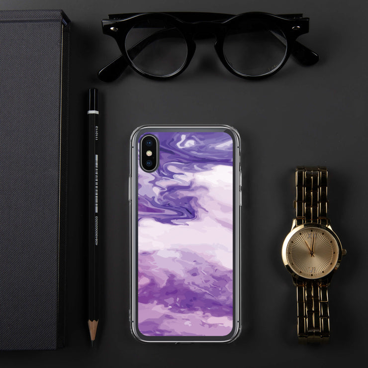 Marble Purple iPhone Case | iPhone X/XS |  | JacksonsRunaway