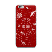 Moon & Back iPhone Case