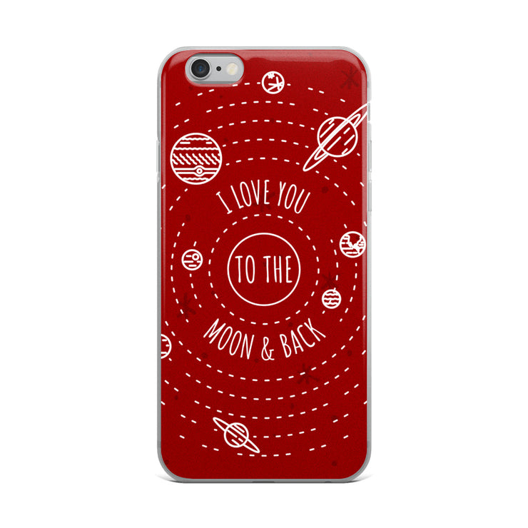 Moon & Back iPhone Case | iPhone 6 Plus/6s Plus | Cellphone Accessories | JacksonsRunaway