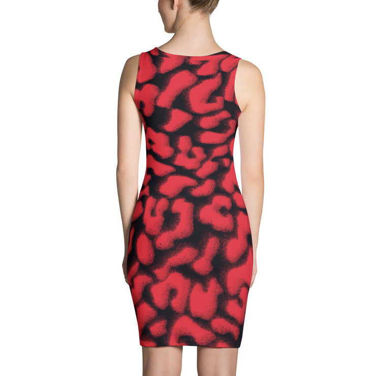 Blurred Leopard Dress |  | Women's Dress | JacksonsRunaway