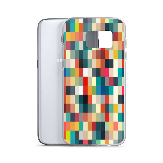 Blurred Pixelated Samsung Phone Case