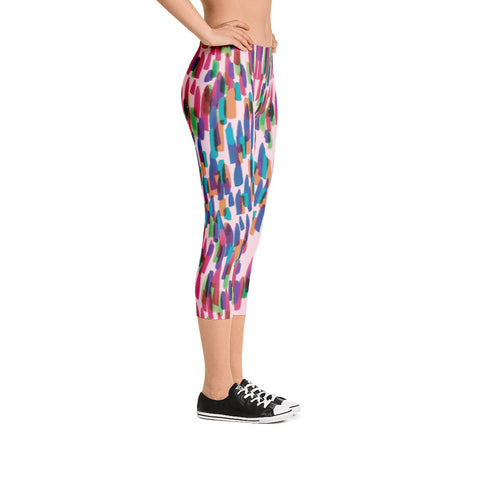 Colorful Capri Leggings
