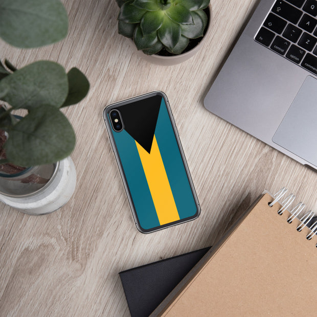 Flag of the Bahamas iPhone Case | iPhone X/XS | Mobile Phone Cases | JacksonsRunaway