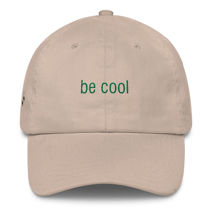 Be Cool Classic Dad Hat | Stone | Hat | JacksonsRunaway