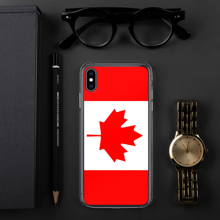 Flag of Canada Protective iPhone Case (For all iPhone 5,6,7 Models) | iPhone XS Max | Mobile Phone Cases | JacksonsRunaway