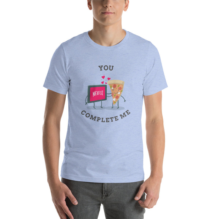 You Complete Me T-Shirt | Heather Blue / 4XL | T-shirt | JacksonsRunaway