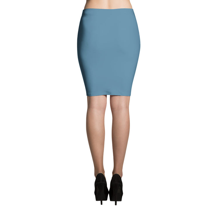 So Blue Pencil Skirt in Niagara Blue   jacksons runaway.myshopify.com