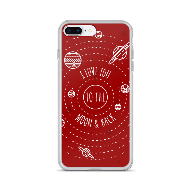 Moon & Back iPhone Case | iPhone 7 Plus/8 Plus | Cellphone Accessories | JacksonsRunaway