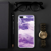 Marble Purple iPhone Case | iPhone 7 Plus/8 Plus |  | JacksonsRunaway
