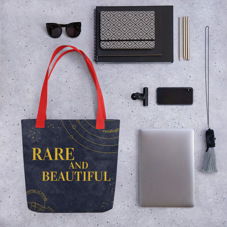 Rare Beauty Print Tote Bag
