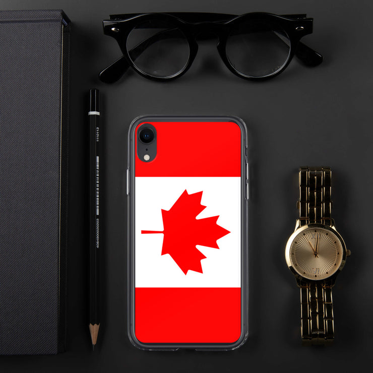 Flag of Canada Protective iPhone Case (For all iPhone 5,6,7 Models) | iPhone XR | Mobile Phone Cases | JacksonsRunaway
