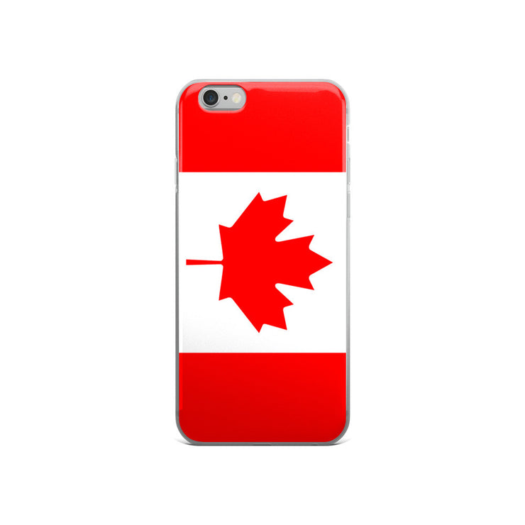 Flag of Canada Protective iPhone Case (For all iPhone 5,6,7 Models) | iPhone 6/6s | Mobile Phone Cases | JacksonsRunaway