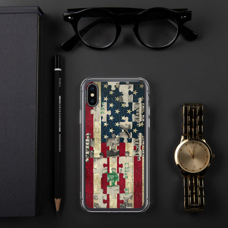 American Greed iPhone Case | iPhone X/XS | Mobile Phone Cases | JacksonsRunaway