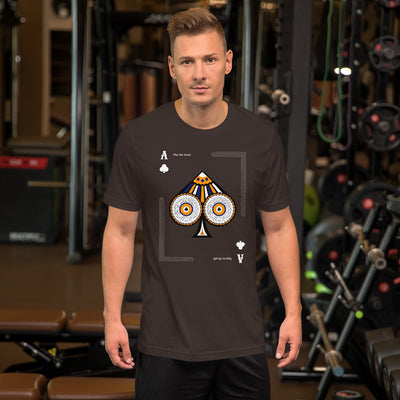 Ace Men's Jersey T-Shirt | Brown / 2XL | T-shirt | JacksonsRunaway