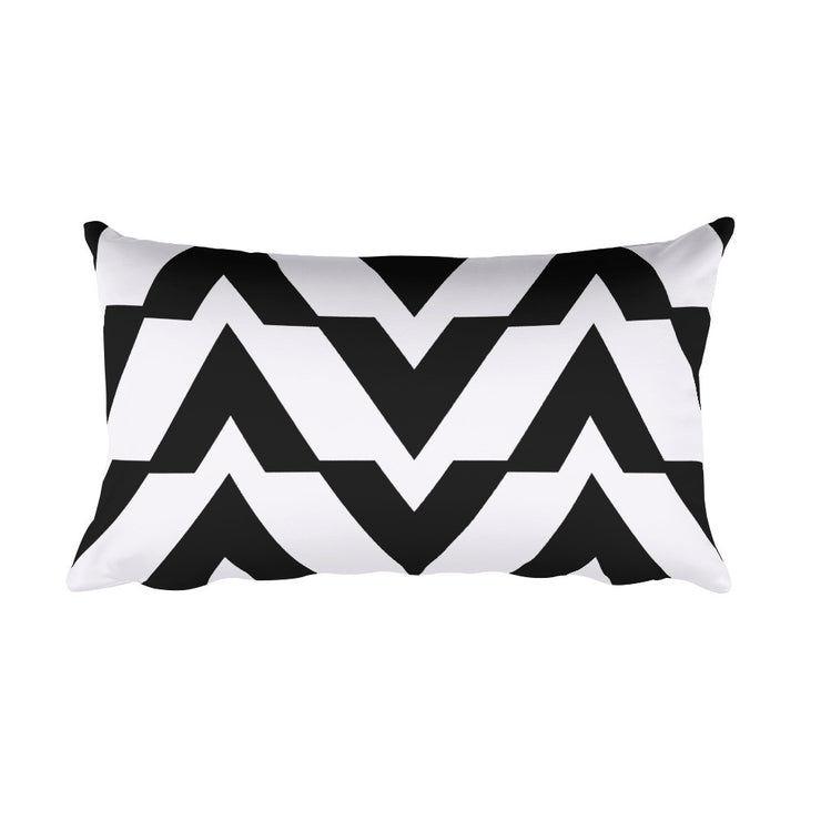 Black and White Rectangular Accent Pillow | Black/White | HomeGoods | JacksonsRunaway