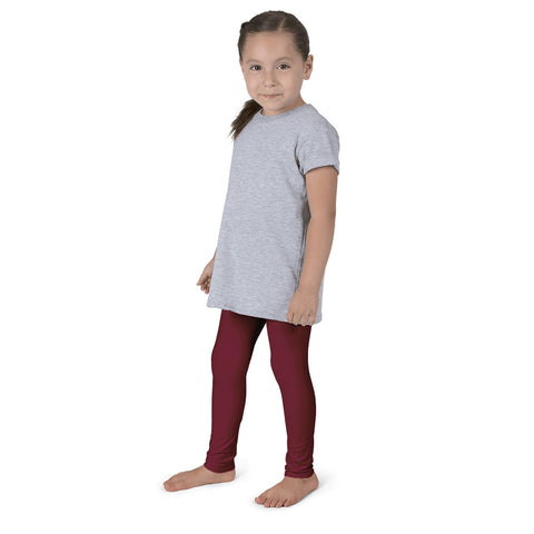 Cranberry Holiday Girl's leggings