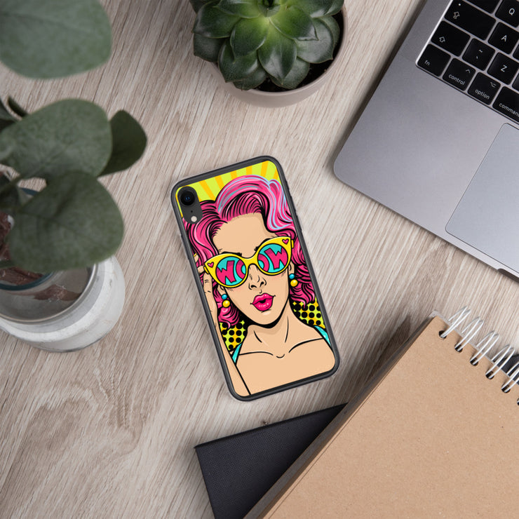 WOW iPhone Case