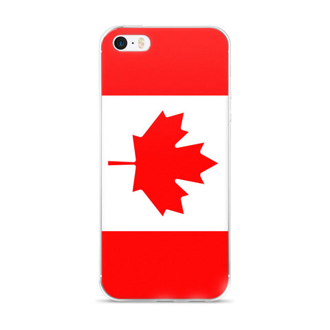 Flag of Canada Protective iPhone Case (For all iPhone 5,6,7 Models)   jacksons runaway.myshopify.com