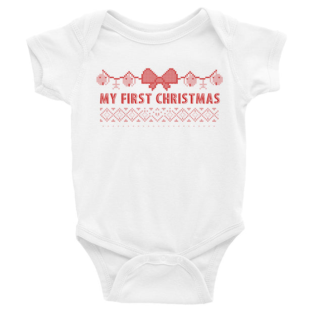 First Christmas Infant Onesie