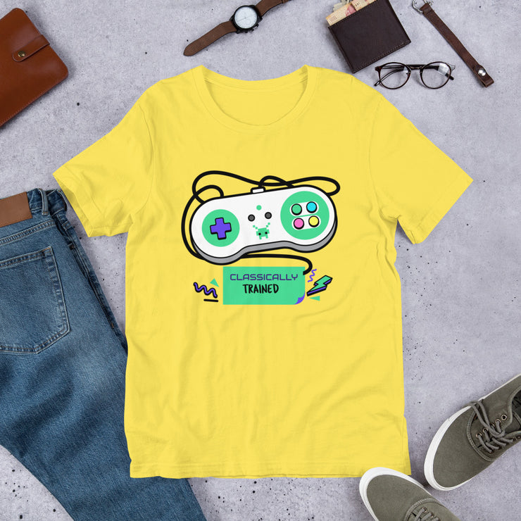 Classically Trained T-shirt | Yellow / 4XL |  | JacksonsRunaway