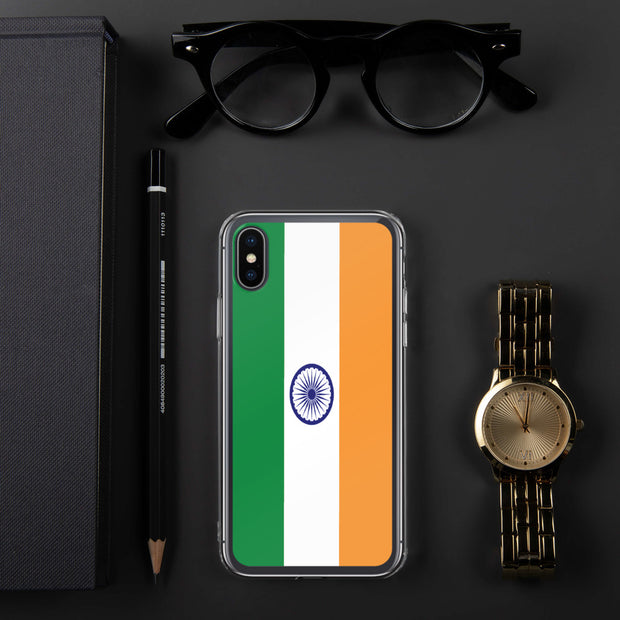 Flag of India iPhone Case | iPhone X/XS | Mobile Phone Cases | JacksonsRunaway