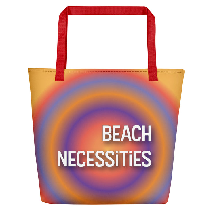 Necessities Beach Bag | Red |  | JacksonsRunaway