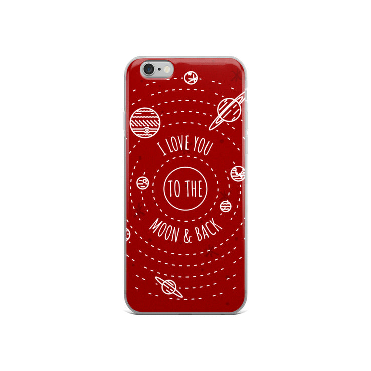 Moon & Back iPhone Case | iPhone 6/6s | Cellphone Accessories | JacksonsRunaway