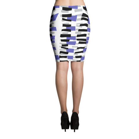 Blue Haze Pencil Skirt   jacksons runaway.myshopify.com