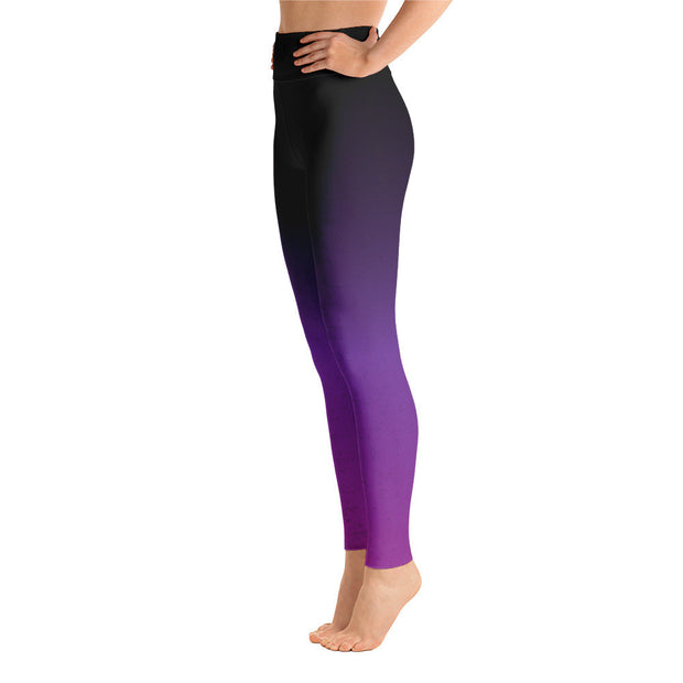 Purple Power Yoga Leggings