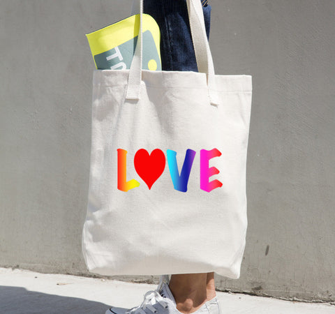 Choose Love Tote Bag   Jacksons Runaway    1