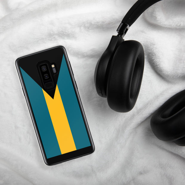Flag of the Bahamas Samsung Case | Samsung Galaxy S9+ | Mobile Phone Cases | JacksonsRunaway