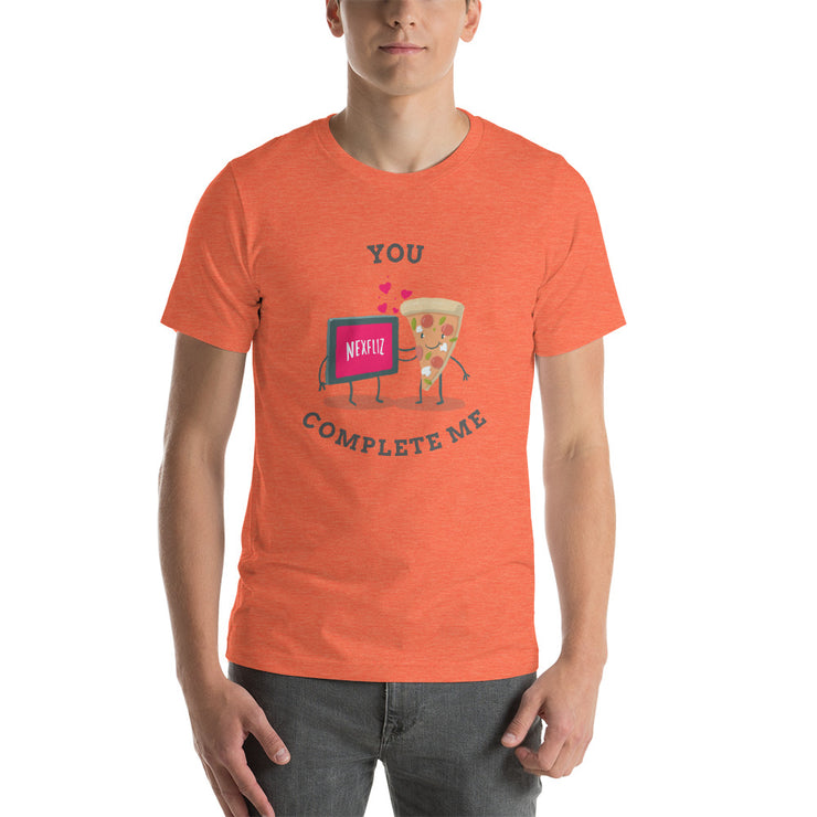 You Complete Me T-Shirt | Heather Orange / 4XL | T-shirt | JacksonsRunaway