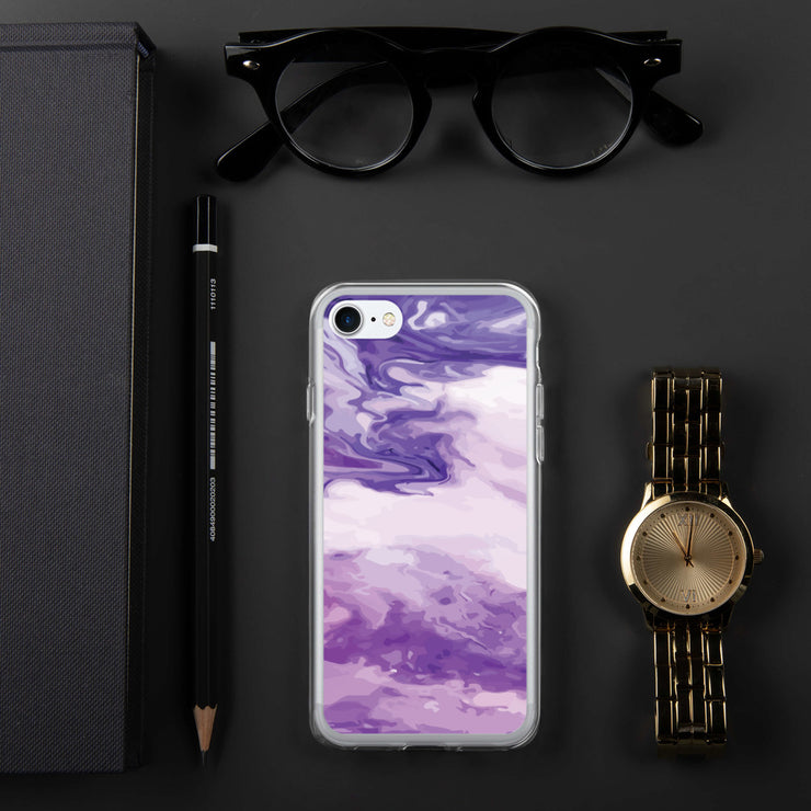 Marble Purple iPhone Case | iPhone 7/8 |  | JacksonsRunaway