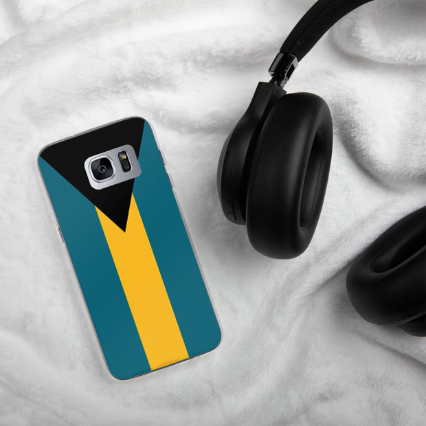 Flag of the Bahamas Samsung Case | Samsung Galaxy S7 Edge | Mobile Phone Cases | JacksonsRunaway