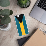 Flag of the Bahamas iPhone Case | iPhone 7 Plus/8 Plus | Mobile Phone Cases | JacksonsRunaway
