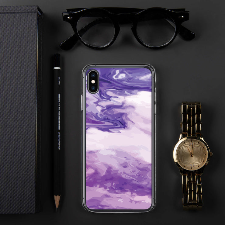 Marble Purple iPhone Case | iPhone XS Max |  | JacksonsRunaway