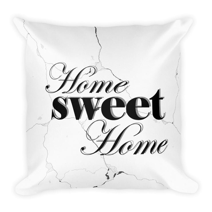 Home Sweet Home Decorative Pillow   jacksons runaway.myshopify.com