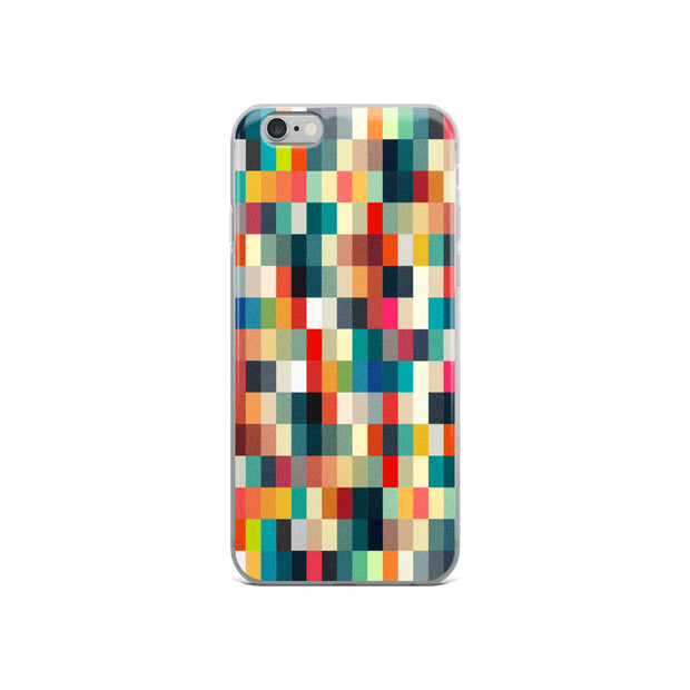 Blurred Pixelated iPhone Full Phone Case