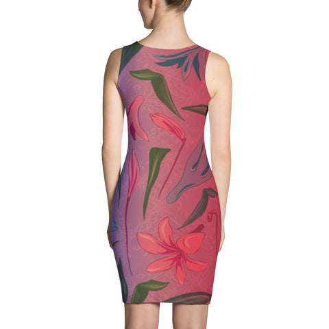 Ombre' Flower Dress