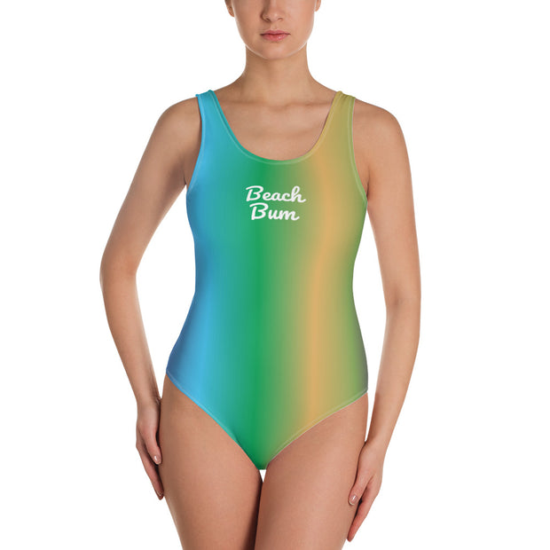 Beach Bum One-Piece Swimsuit | 3XL | swimwear | JacksonsRunaway