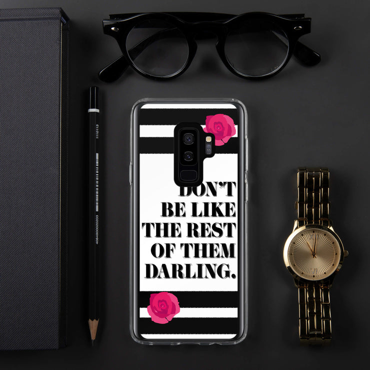 Don't Be Like Them Samsung Case | Samsung Galaxy S9+ | Mobile Phone Cases | JacksonsRunaway