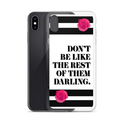 Don't Be Like iPhone Case |  | Phone Cases | JacksonsRunaway