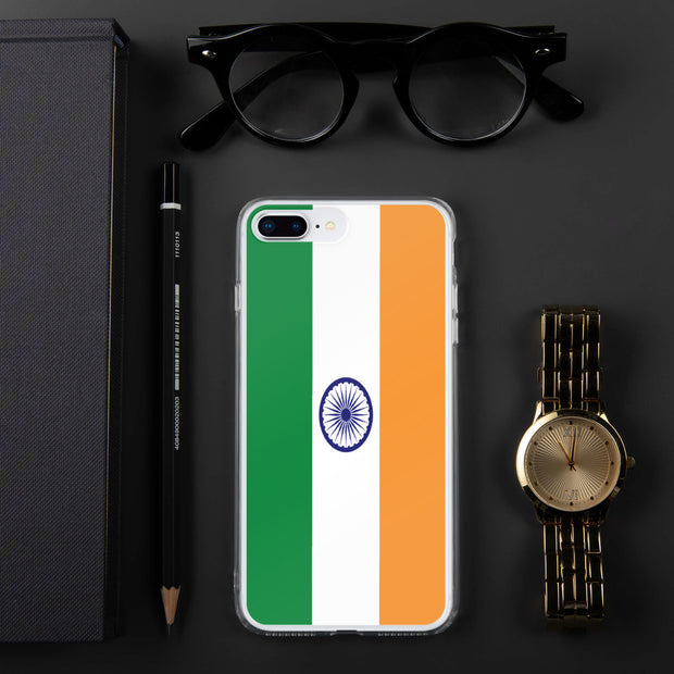 Flag of India iPhone Case | iPhone 7 Plus/8 Plus | Mobile Phone Cases | JacksonsRunaway